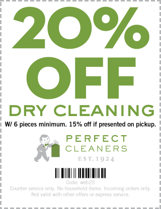 Perfect Cleaners Coupons